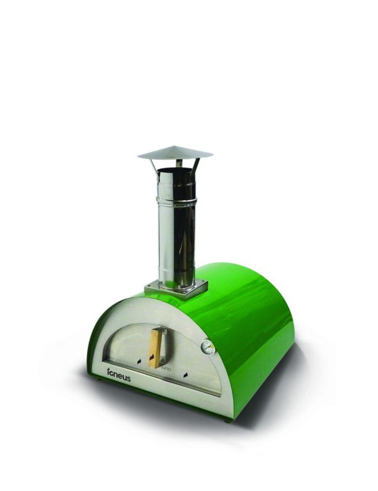 Igenus Bambino pizza oven in green